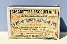 Ancienne boîte Pharmacie - cigarette escouflaire  anti asthmatiques