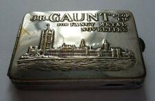 More details for fabulous vintage j.r. gaunt & son ltd matchbook holder / vesta case + matchbook
