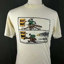 Saddam Hussein Vintage 90s T-Shirt Medium USA Military Air Force Camel Gulf War