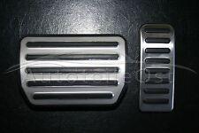 Acero inoxidable cromo pedales VW t5 Multivan Caravelle Transporter dsg & Automático
