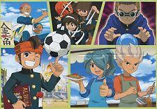 poster promo Inazuma Eleven anime Endou Mamoru Goenji Shuya Kazemaru Ichirouta