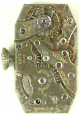 Welsbro Watch Co.  Mechanical - Complete Running Movement -Sold 4 Parts / Repair