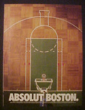 Boston Garden Celtics Basketball Court Hoop Absolut AD