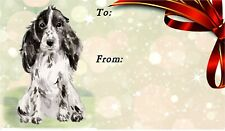 Cocker Spaniel Dog Self Adhesive Gift Labels by Starprint