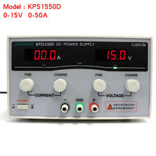 Wanptek KPS1550D High precision Adjustable Display DC power supply 15V/50A