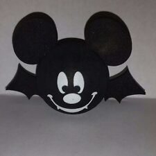 DISNEY MICKEY EARS BAT VAMPIRE ANTENNA TOPPER CAR TRUCK TOPPER~NEW~HALLOWEEN