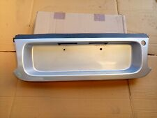 TOYOTA CELICA ST205 GT4 94-99 2.0 3SGTE UK SPEC NUMBER PLATE SURROUND SILVER