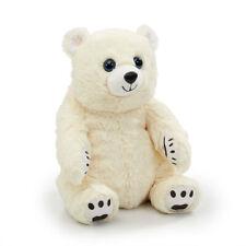 Snuggle Buddies 32cm Endangered Animals Plush Toy - Polar Bear