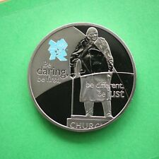 2010 Churchill Proof Olympics Be Daring Be First Be Just Be Different SNo36238