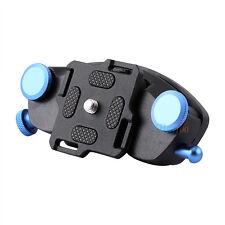 Strong Fast Loading Waist Belt Buckle Mount Camera Clip Adapter for DSLR Black