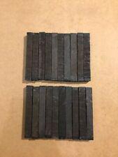 """Ebony wood Pen Blanks (10)  6""""x 3/4"""" x 3/4"""""""