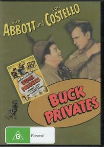 Buck Privates - Abbott and Costello New and Sealed DVD
