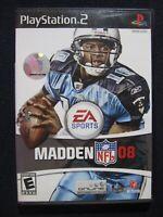 Madden NFL 08 - PlayStation 2 [video game]