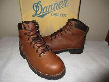 NEW Men's Danner 16001 WORKMAN GTX Safety Toe WORK BOOTS, Brown, Sz 11.0 EE