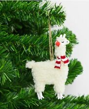 Llama Alpaca Hanging Christmas Tree decoration - Festive Christmas Decoration