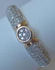 ★De Luxe★ ★0,40 ct★ Brillanten in aus 375 Gold Ring mit Diamant Brillant Diamond