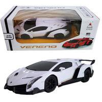 Licensed 1:18 Lamborghini Veneno Battery Radio Remote Control RC Vehicle Car