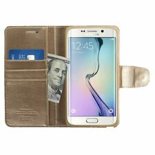 Plain Leather Card Pocket Cases & Covers for Samsung Mobile Phones