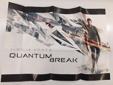 Quantum Break Timeless Collectors Edition A3 Double-sided Poster only UK new