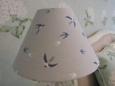 Handmade Coolie Lampshade Sophie Allport Swallow fabric 25cm, 30cm, 35cm, 40cm