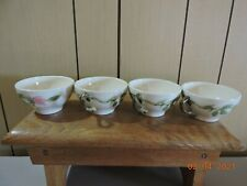 Franciscan desert rose coffee cups x 4 in mint condition