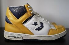 Converse Weapon Yellow Mid Trainers Magic Johnson Lakers - UK 10 - US 11