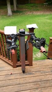 Yakima Doubledown Ace 4 Tilt Hitch Mount Heavy Duty Travel Bicycle Rack W/ Locks