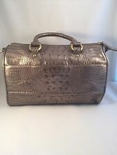 NWOT VINTAGE BRAHMIN MELBOURNE GRAY CROC LEATHER PURSE