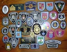 LOTE DE PARCHES POLICIA DE ESPAÑA spain police patches lot