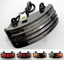 Tri-Bar Fender LED Integrated Tail Light w/ Signal For Harley Touring FLHX FLTRX