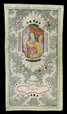canivet pergamena miniatura 1700 S.ANNA