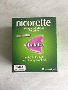NICORETTE 15mg Inhalator - 36 Cartridges