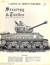 Strategy & Tactics S&T #11 Vol 2 #1 Guerrilla Warfare Strategy, Diplomacy Good++