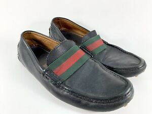 Authentic Gucci Mens Leather Loafer US 9 UK 8