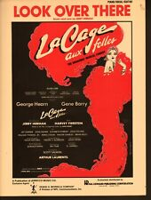 Look Over There 1983 La Cage Aux Folles Sheet Music