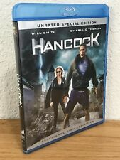 HANCOCK (Blu-Ray, 2008) 2-Disc Set UNRATED SPECIAL EDITION Region Free