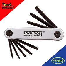 Teng Tools 1476ntx 7X plegable TX llave juego - aluminio funda