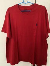 Men Polo Ralph Lauren T Shirt Red 2xl