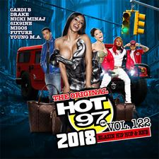 Hot 97 vol. 122 Blazin Hip Hop & RNB Official CD