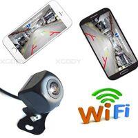 150 Degree Wifi Backup Camera Car Rear View Camera For Phone IOS Android DC 12V