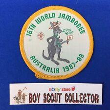 Boy Scout 16th World Jamboree Australia 1987-88 Patch 6