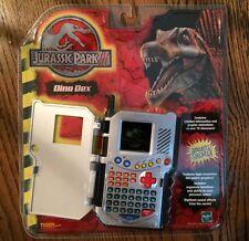 Jurassic Park III Dino Dex Electronic Handheld Game System Dinosaur Toys NIB