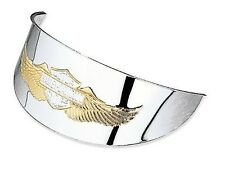 "Harley Eagle Wing Logo Headlamp Visor for 5 3/4"" Headlamp Softail dyna Sportster"