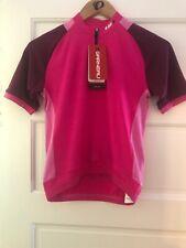 New-Old-Stock Louis Garneau LG Lemmon Jersey-- Size Junior Large -- Pink