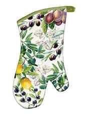 """Michel Design Works """"TUSCAN GROVE"""" Oven Mitt - Grapes, Lemons"""