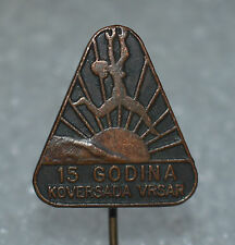 KOVERSADA VRSAR FKK Naturist Park Croatia Nudist camp beach pin badge 15th anni
