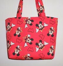 Handmade Disney Mickey Mouse Tote Purse Bag