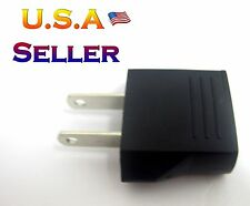 Plug Adapter for EUROPE ASIA ROUND  to USA 220 CONVERTER 1PCS BRAND NEW
