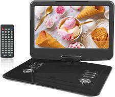 WONNIE 15.5 pulgadas reproductor de DVD portátil con pantalla giratoria de 270, construido en 4 horas..