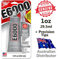 E6000 Industrial Strength Glue Adhesive 1oz / 29.5ml With Nozzle Tip Set